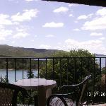 Balcon donnant sur le lac