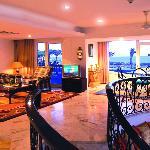 Royal suite living area