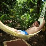 relajacion total...dormiendo en aire libre