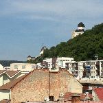 View of Trencin Castle from Room