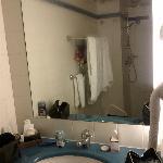 Eclairage au néon de la salle de bain