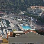 Le port vu du balcon