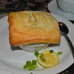 Puff Pastry over Escargot - A different YUM!