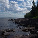 Lake Superior Shore line