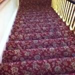 moquette antica delle scale