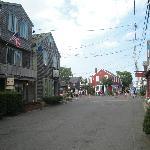 Scorci del centro di Rockport