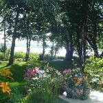 View to Hillsborough River from the B&B veranda