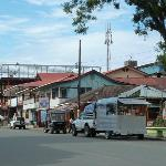 The main street in Bocas