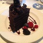 The BEST chocolate cake anywhere