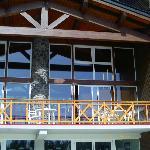 Vue de l'accueil coté solarium