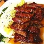 A classic oriental Pork and Duck dish at Mii&U