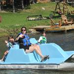 Paddle Boating -- Free and Safe