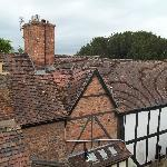 View across the rooftops from Room 8