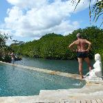 pool view on laguna