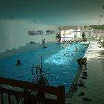 la piscina veramente ampia