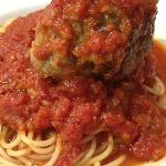 Spaghetti with Meat Ball