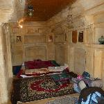 The Rajasthani room, our first room