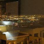 vista su cape town di sera