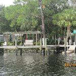 View of resort from Little Manatee River