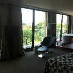 Apartment suite and view
