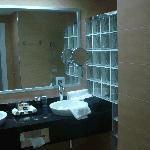 Bowl sinks on the vanity