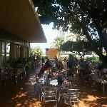 Cafeteria terraza piscina
