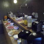 Petit déjeuner-buffet