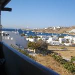 panorama dal terrazzo per la colazione