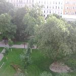 Rudolfspark View From 4th Floor Room