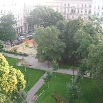 View of Rudolfspark From 4th Floor Room