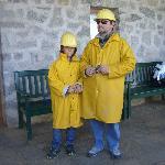 vestizione per la miniera