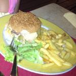 Le Hamburger revisite par le chef: Julie, une réussite... Le steak haché : de la viande charolai
