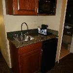 Kitchenette in our suite