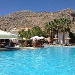 Main pool at Lindos Gardens
