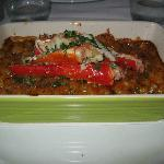 Crab leg macaroni and cheese.