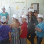 Making Chocolate Lollies