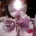 tavola decorata x il cenone di San Silvestro