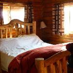 Bedroom--Denny Creek Cabin