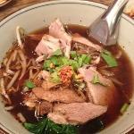 duck noodle soup!