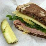 "My yummy ""designer"" sandwich"