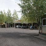 Around back - the El Rancho part