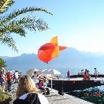 Tarde de Sol Frente a Montreux