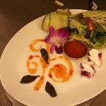 Salad during ART OF BLOOM