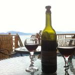 "Great view with ""Paul's"" great wine"