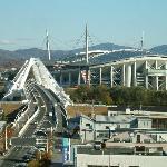 豊田スタジアムを臨む
