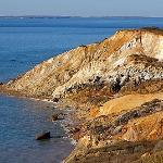 the cliffs of Aquinnah
