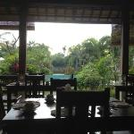 View at breakfast