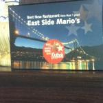 east side Mario's in North Vanc