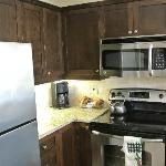 Kitchen in 2 bedroom suite