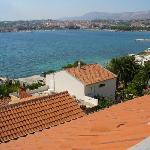Vue terrasse vers Split